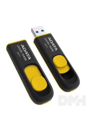 ADATA 16GB USB3.2 Sárga (AUV128-16G-RBY) Flash Drive