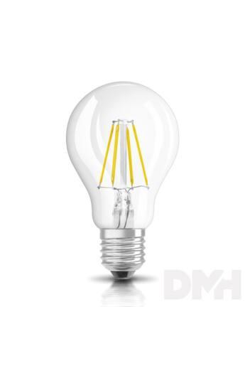 Osram Star átlátszó üveg búra/7W/806lm/2700K/E27 LED körte izzó