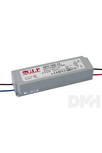 GLP GPV-100-12 100W 12V 8.3A IP67 LED tápegység