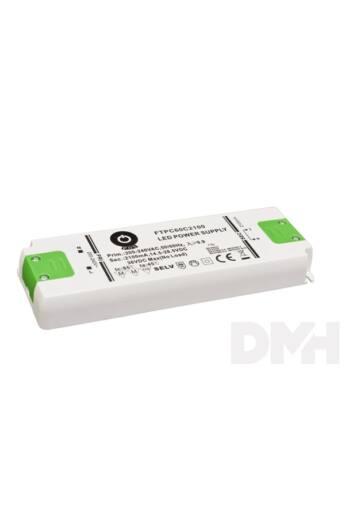 POS POWER FTPC60C2100 2100mA/14.5~28.5V 59,8W IP20 LED tápegység