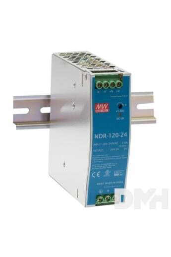 MEAN WELL NDR-120-48 48V 2,5A 120W DIN sínre szerelhető tápegység