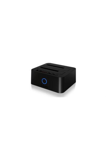 IcyBox 2Bay Docking & Clone Station for 2.5'' and 3.5'' HDD Sata, JBOD, USB 3.0