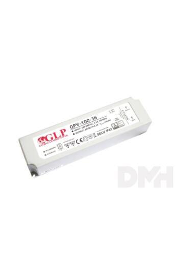 GLP GPV-100-36 100W 36V 2.8A IP67 LED tápegység