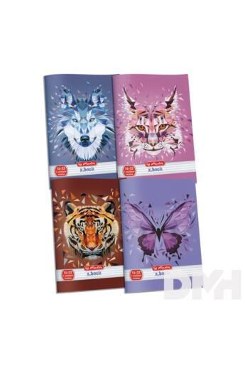 Herlitz Wild Animals A5 14-32 1.osztályos vonalas füzet