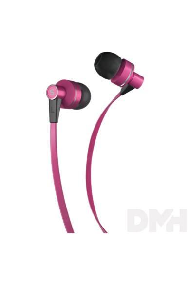 Sencor SEP 300 PINK rózsaszín mikrofonos fülhallgató