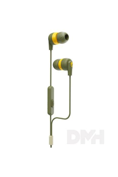 Skullcandy S2IMY-M687 Inkd+ W/MIC sárga mikrofonos fülhallgató