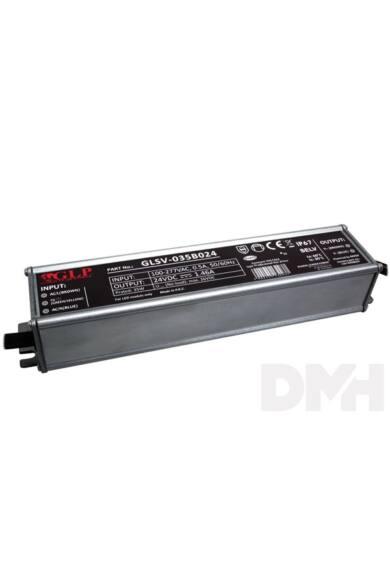 GLP GLSV-035B024 24V/1.46A 35W IP67 LED tápegység