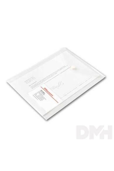 Office Depot A5 álló 5db/cs áttetsző fehér irattasak