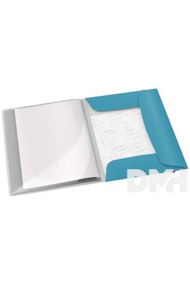 Leitz COSY PP nyugodt kék pólyás iratvédő mappa