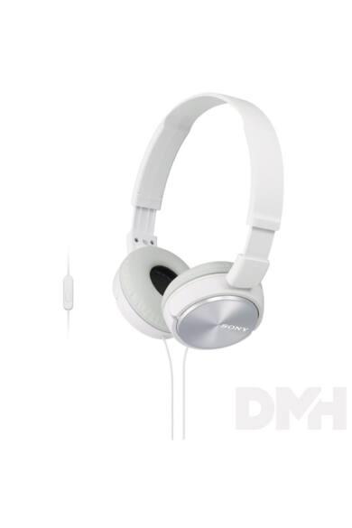 Sony MDRZX110APW.CE7 fehér mikrofonos fejhallgató