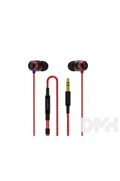 SoundMAGIC SM-E10-01 E10 fekete-piros fülhallgató