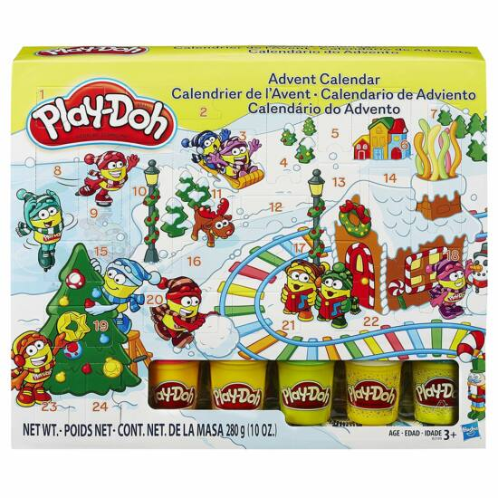 Play Doh - Adventi kalendárium