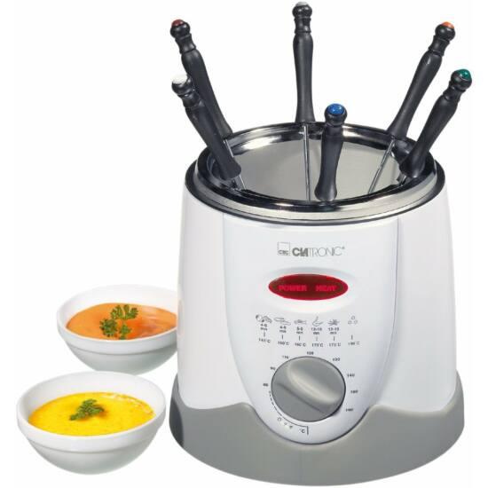 Clatronic FFR2916 fondue sütő, 1 liter, 900W