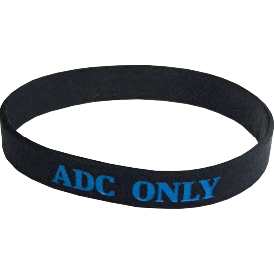 ADC Only szilikon karkötő