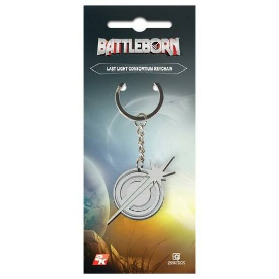 Battleborn Last Light Consortium Kulcstartó