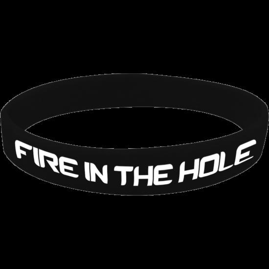 Fire in the hole szilikon karkötő