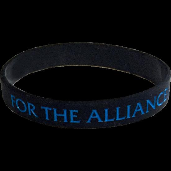 For the alliance szilikon karkötő