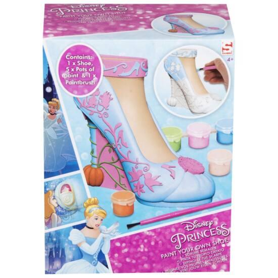 Hercegnők - fesd ki cipőd kreatív szett