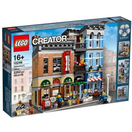 LEGO Exclusive - Detective's Office (Lego 10246) építőjáték