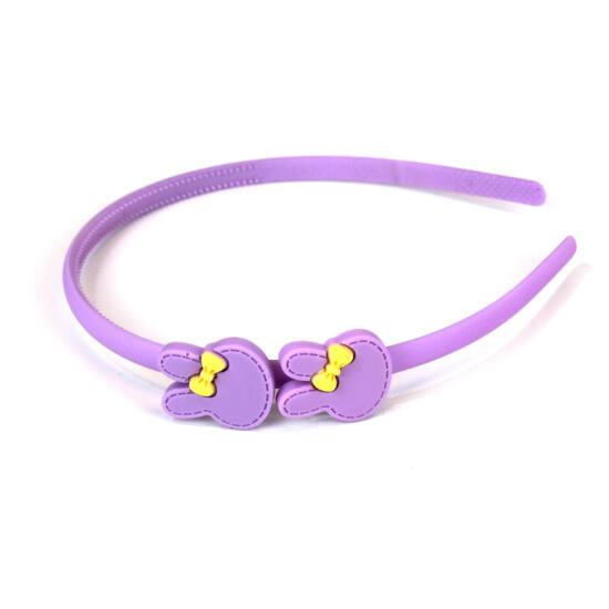 Hajpánt nyuszis lila