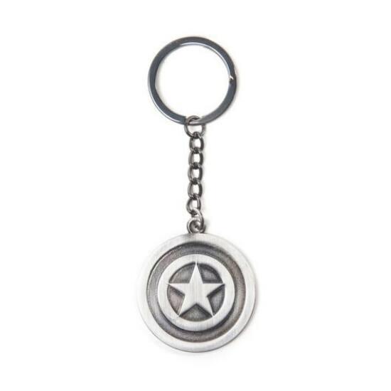 Marvel Captain America Metal Shield Kulcstartó