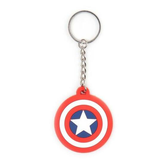 Marvel Captain America Shield Logo Kulcstartó