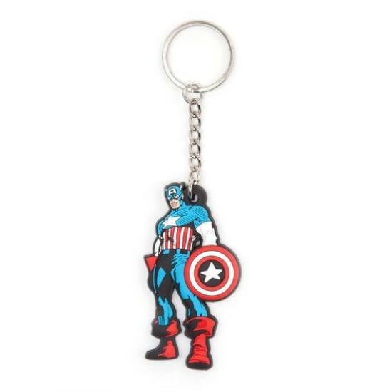 Marvel Comic Captain America Kulcstartó