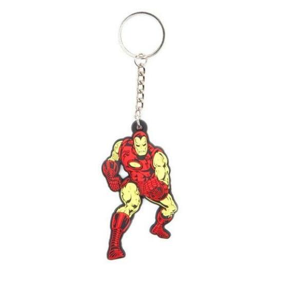 Marvel Comic Iron Man Kulcstartó