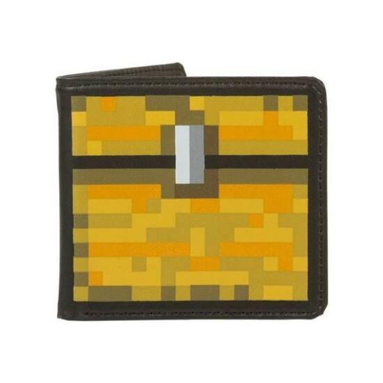 Minecraft Chest Bőr Pénztárca