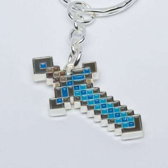 Minecraft Diamond Sword Kulcstartó