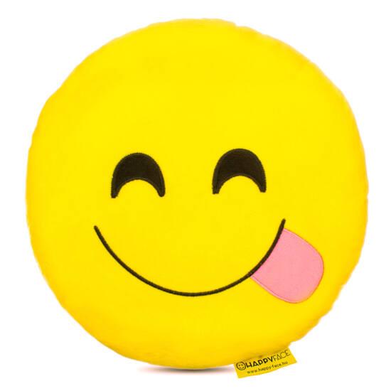 Nyelves Emoji Párna