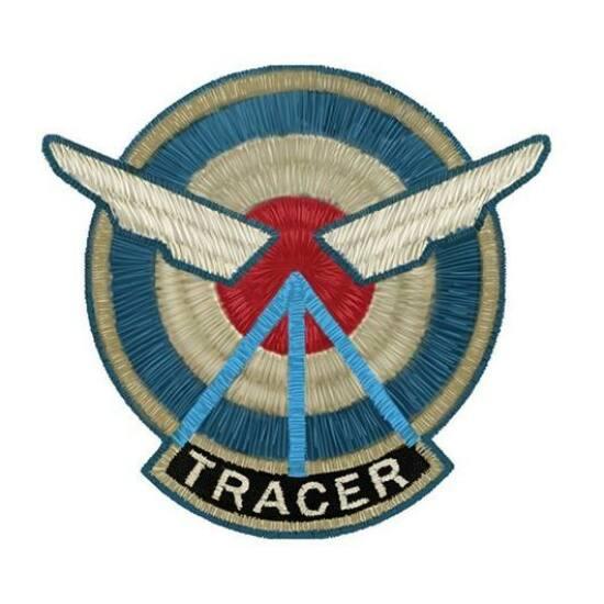 Overwatch Tracer Felvarró