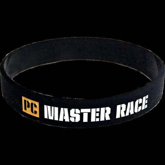 PC Master Race szilikon karkötő