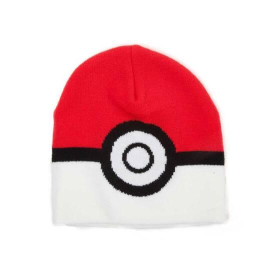 Pokémon Poke Ball Kötött Sapka
