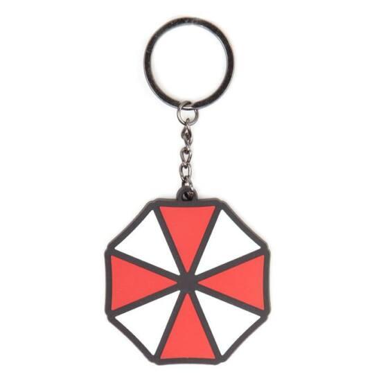Resident Evil Umbrella Logo Kulcstartó