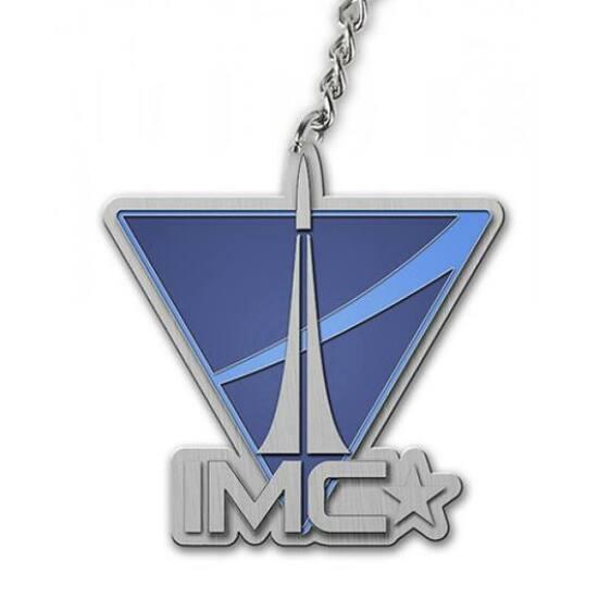 Titanfall IMC Logo Kulcstartó