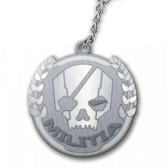 Titanfall Militia Logo Kulcstartó